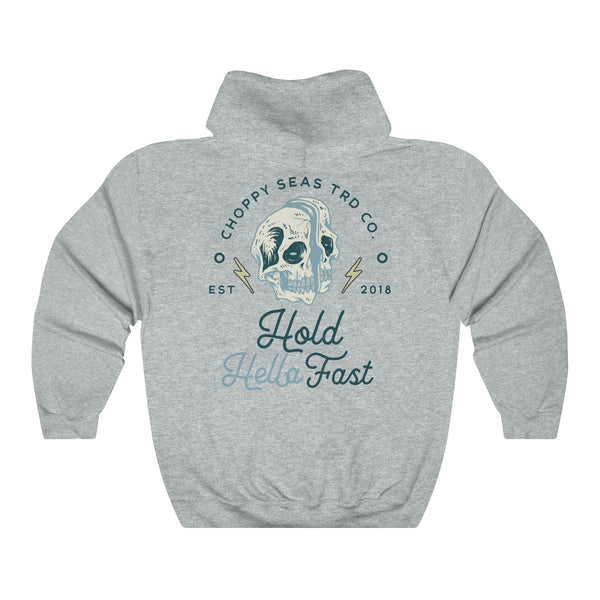"Choppy Seas ""Hold Fast"" Unisex Heavy Blend™ Hooded Sweatshirt"