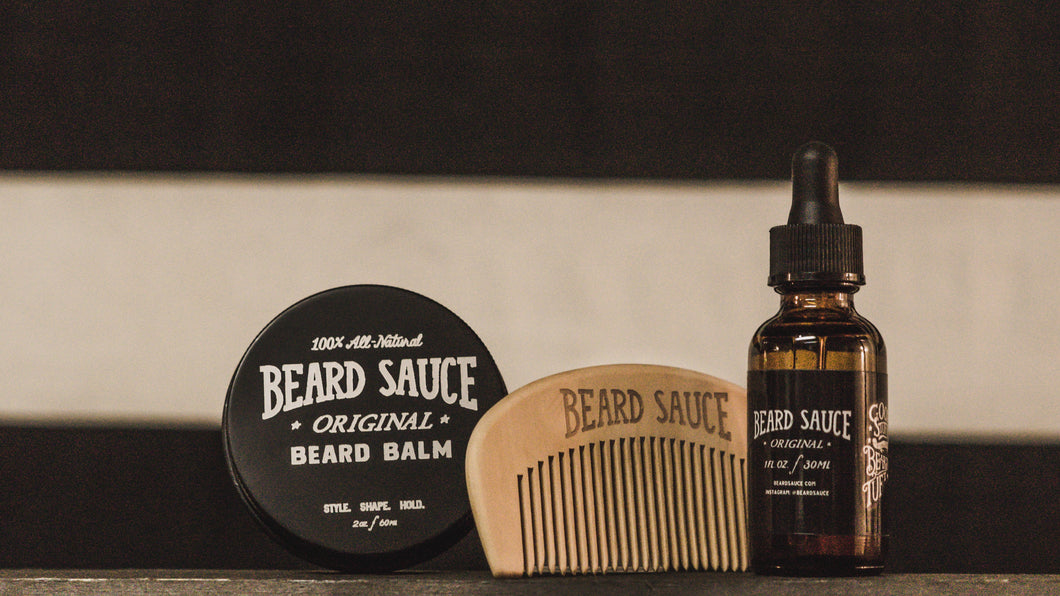 BEARD SAUCE Beardtastic Bundle! Save $8!!!