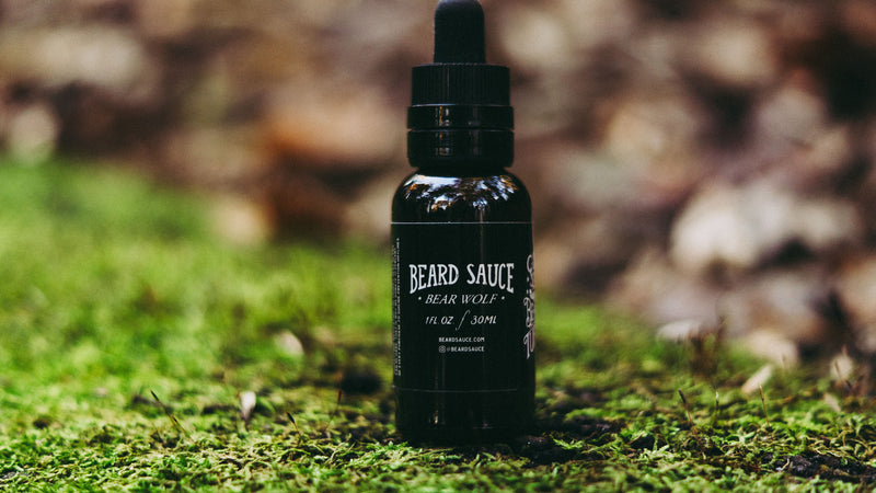 "BEARD SAUCE ""Bear Wolf"" Blend Premium Beard Oil"