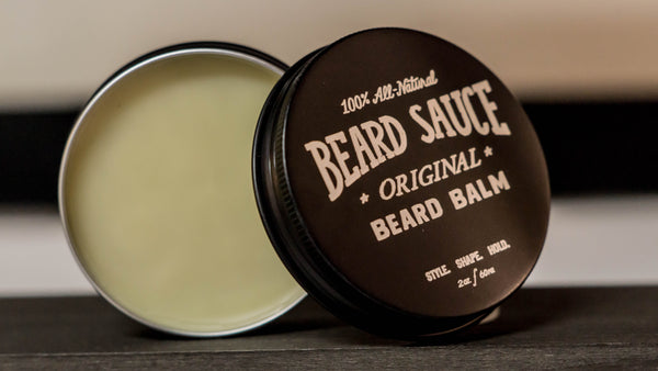 "BEARD SAUCE ""Original"" Blend All-Natural Premium Beard Balm"