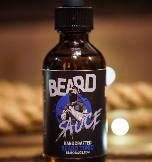 BEARD SAUCE - Handmade Beard Tonic - Beard Oil