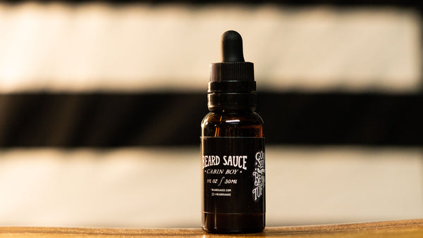 "BEARD SAUCE ""Cabin Boy"" Blend Premium Beard Oil (Unscented)"