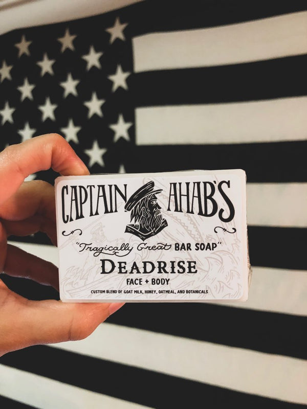 "CAPTAIN AHAB'S ""Deadrise"" Blend Premium Moisturizing Bar Soap"