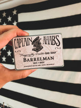 "Load image into Gallery viewer, CAPTAIN AHAB'S ""Barrelman"" Blend Premium Moisturizing Bar Soap"