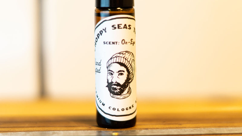 CHOPPY SEAS - Premium Cologne Roller - Ox-Eye Scent