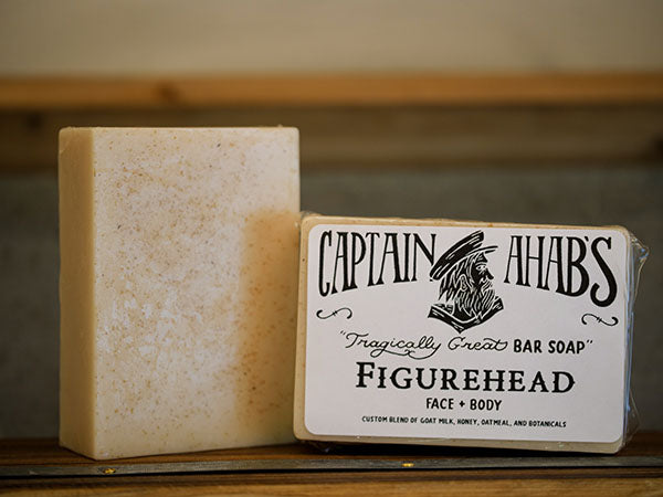 "CAPTAIN AHAB'S ""Figurehead"" Bar Soap"