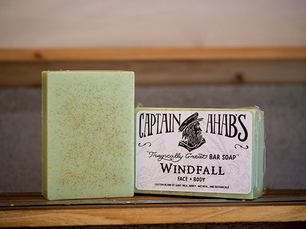 "CAPTAIN AHAB'S ""Windfall"" Bar Soap"