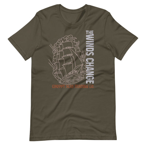 "Choppy Seas ""Winds Change"" T-Shirt"