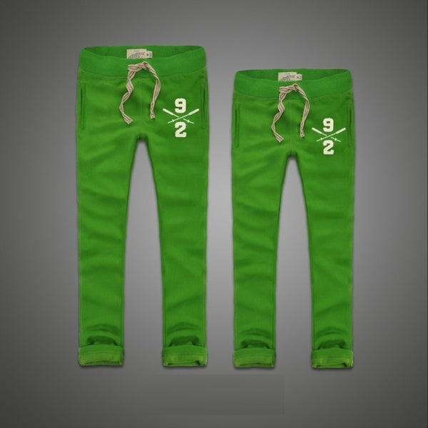 Men's Autumn Cotton Embroidery Sweatpants