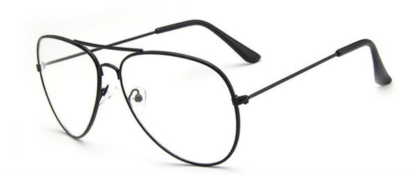 Hot Classic Clear Lens Vintage Optical Aviation Frame Eyeglasses