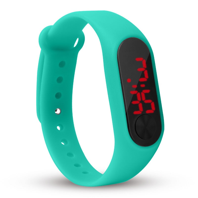 Digital Sports Bracelet Wristwatch For All Ages