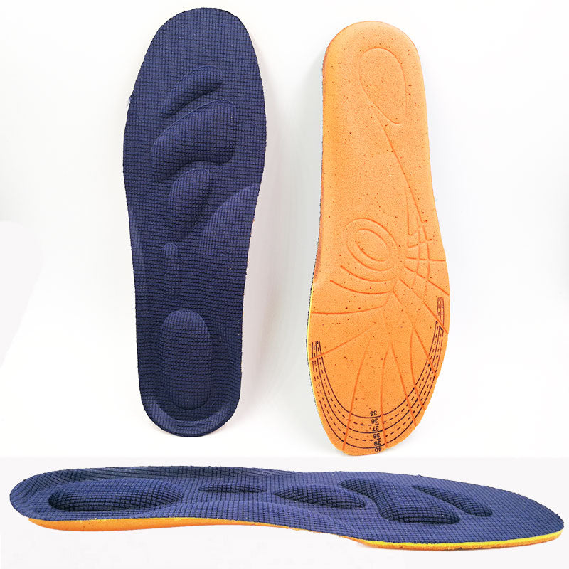 Memory Foam Orthotics Arch Support Insoles for Flat Feet