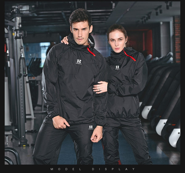 New Arrival 2019 High Quality Long Sleeved Training Sauna Suit Set