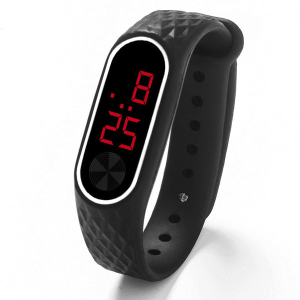 LED Digital Sport Silicone Wrist Watch