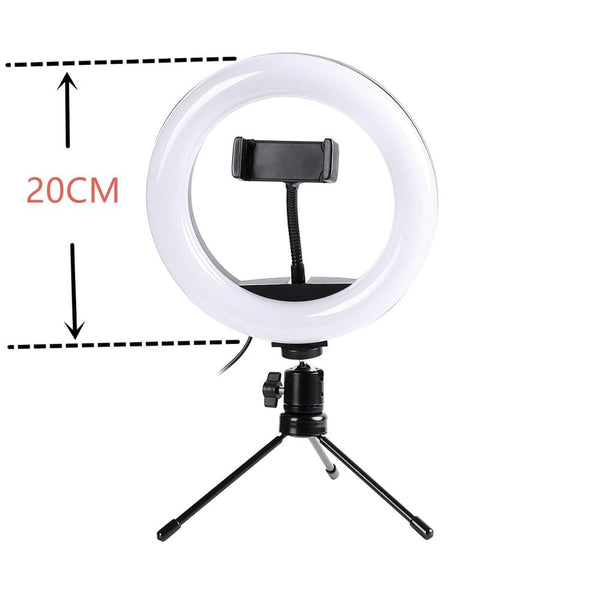 LED 20/ 26CM Selfie Ring Lamp