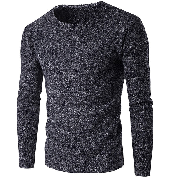 Men's Fashion Warm Slim Fit Casual Knitted Pullover Sweater