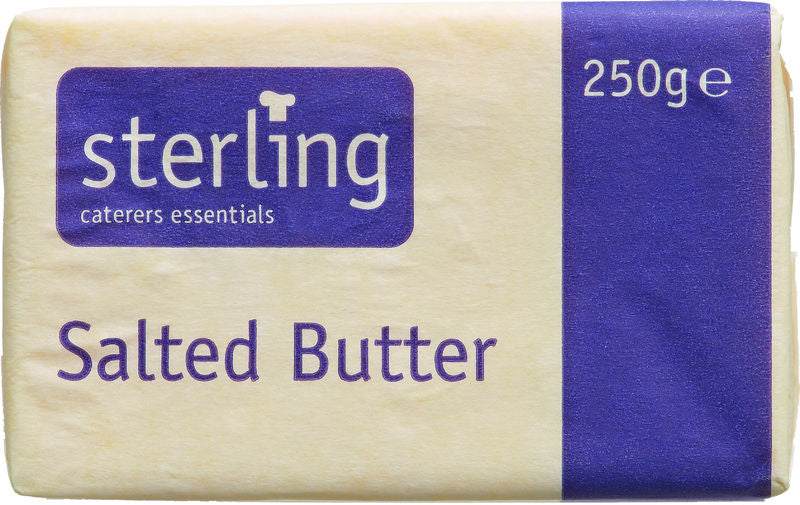 9319 Butter Blocks Salted - 1x250g Block