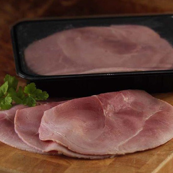 4382 Premium Cooked Sliced Traditional Gammon Ham 100% x 500g