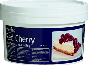 7717 Red Cherry Fruit Pie Filling - 1x2.5kg Tub