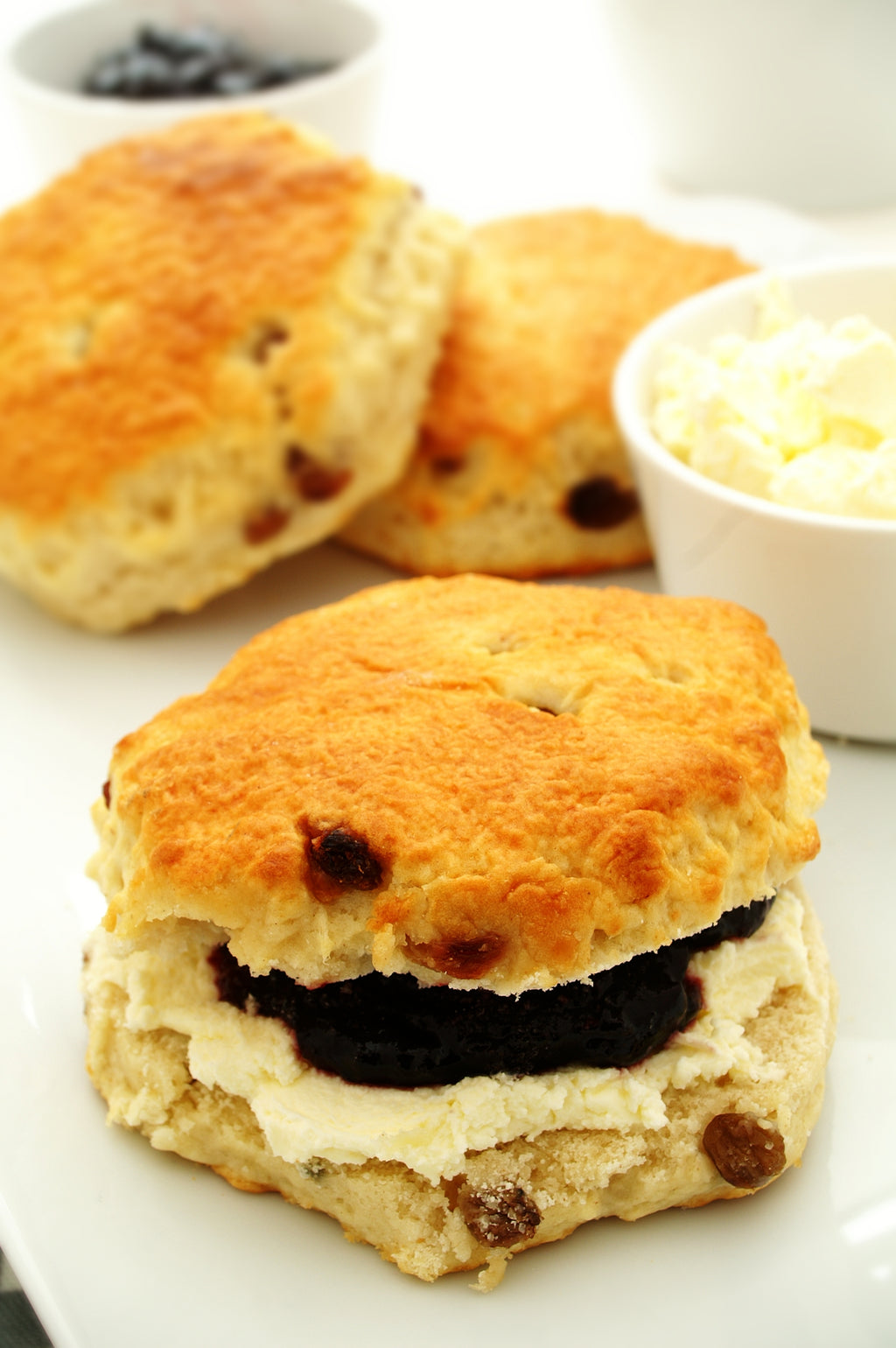 3135  Thaw n Serve Large Sultana Scones - 1 x 10
