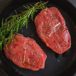3187 Kennedys Braising Steaks x 7oz (195g) - 1x2