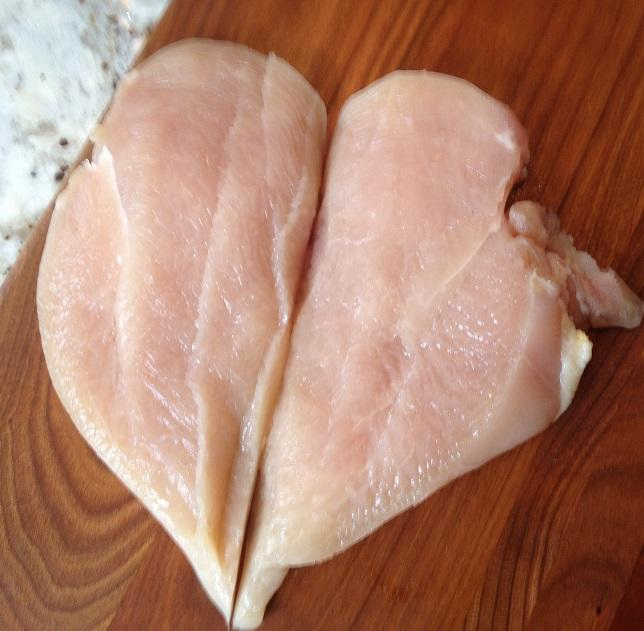 2184 Kennedys Plain Butterfly Double Chicken Breasts 7-8oz (195-227g) - 1x2