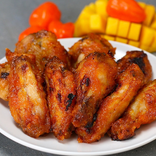 3029 Kennedys Hot n Spicy Kickin Chilli Chicken Wings - 1x400g