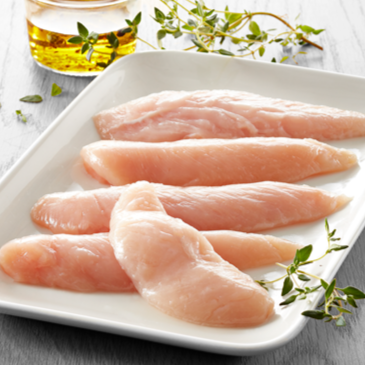 2253 Kennedys Grade A Chicken Inner Fillets (Frozen) -  1 x 500g