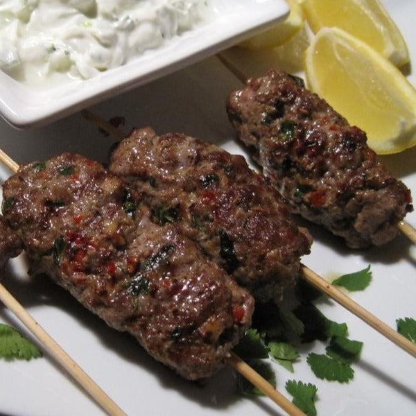 4101 Kennedys Seasoned Lamb Kofta's 4oz (114g) - Frozen 1x4