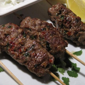 7865 Kennedys Seasoned Lamb Kofta's 2oz (56g) - Frozen 1x4