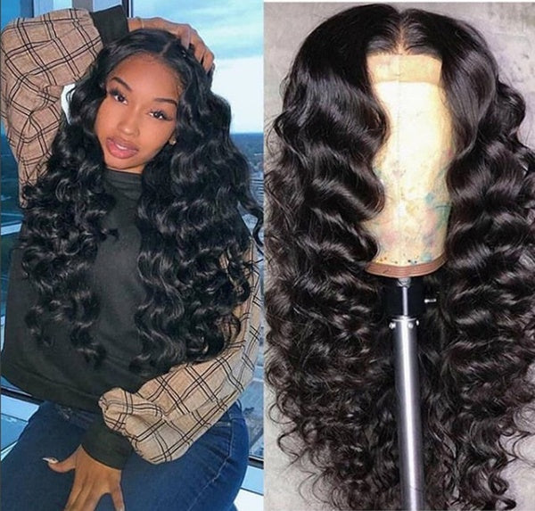 Loose Wave Wig 4x4 Closure Wig 5x5 Lace Closure Wig Lace Front Human Hair Wigs 150% Density Brazilian Remy Wigs