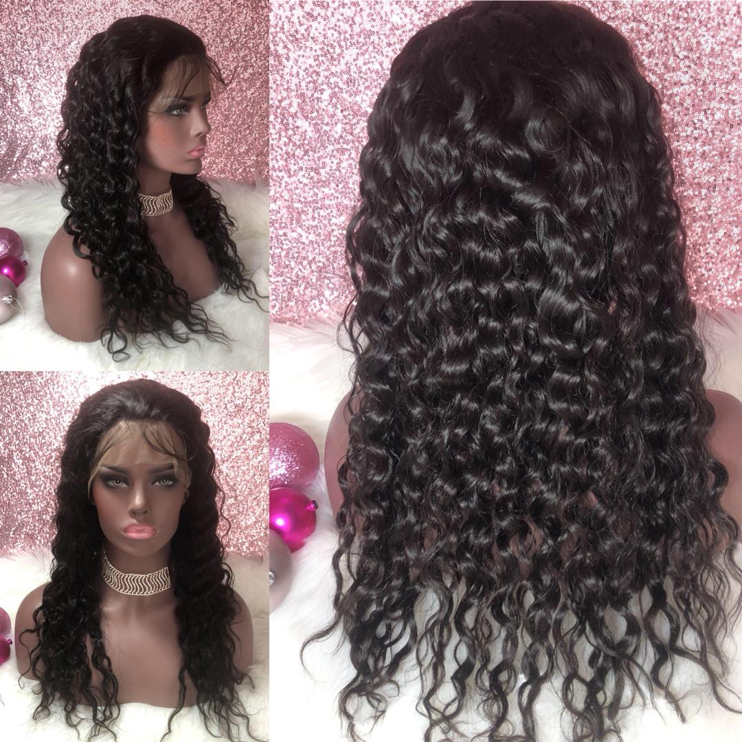 SheBad 13x6 Lace front Water Wave Wig Unit