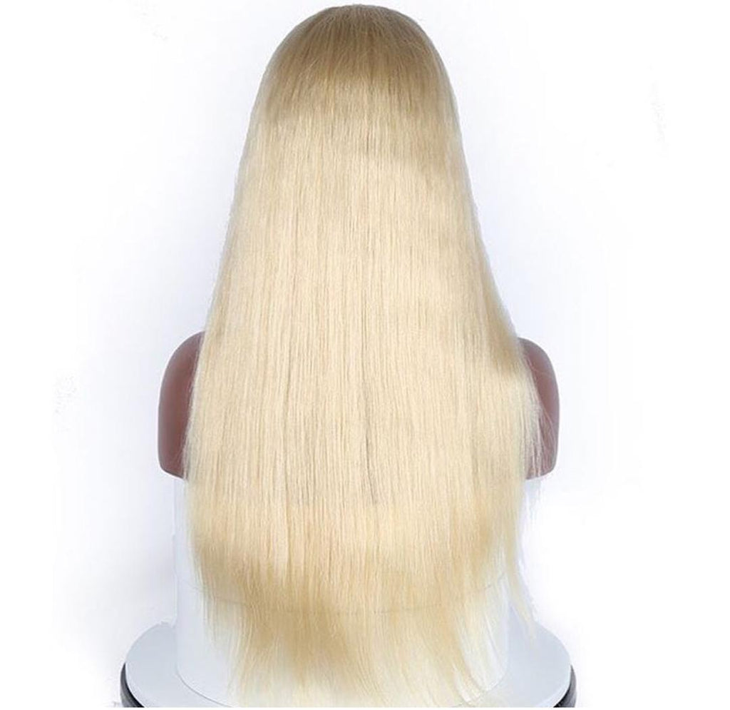 613 Blonde 13x6 Straight Lace Front Wig Unit