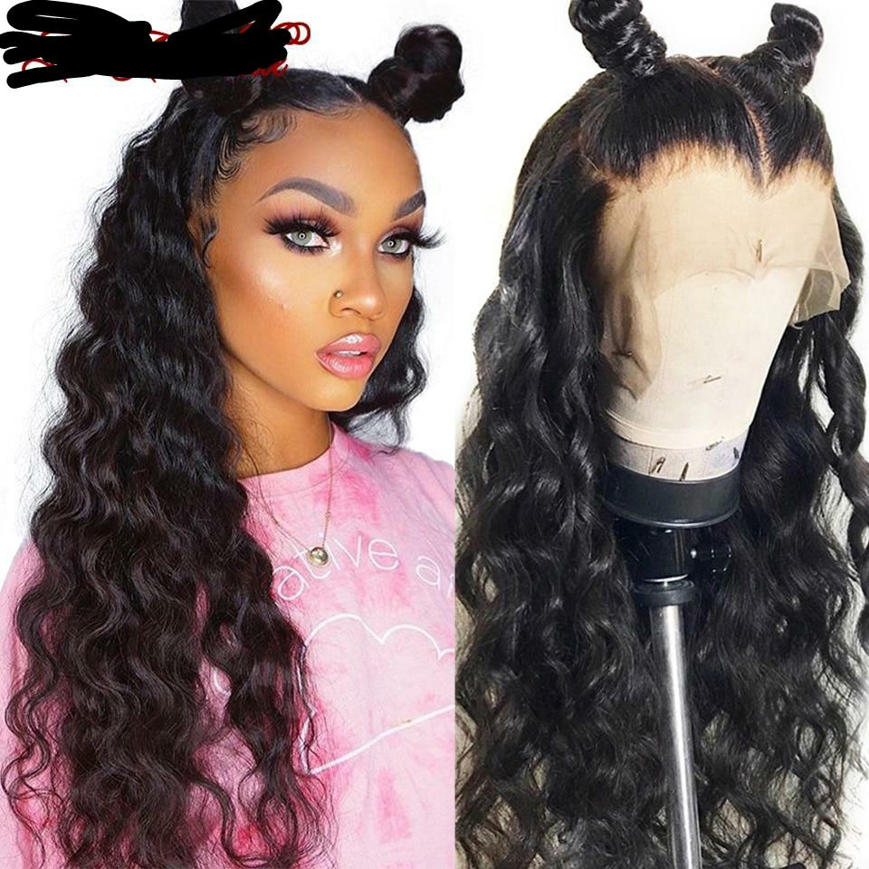 Loose Wave Lace Front Wig Brazilian Remy Human Hair Wigs With Baby Hair Loose Wave Wig Lace Front Human Hair Wigs