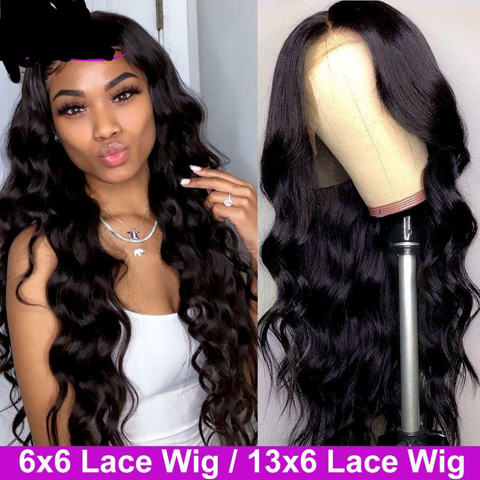 6x6 Closure Wig Body Wave Wig 13x6 Lace Front Wig With Baby Hair Pre Plucked Body Wave Lace Front Human Hair Wigs