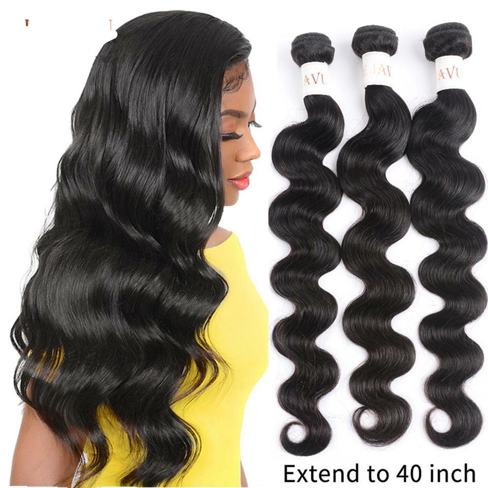 Body Wave Bundles 3 Bundle Deal Peruvian Hair 30 40 Inch Bundles Natural Color Hair Bundles