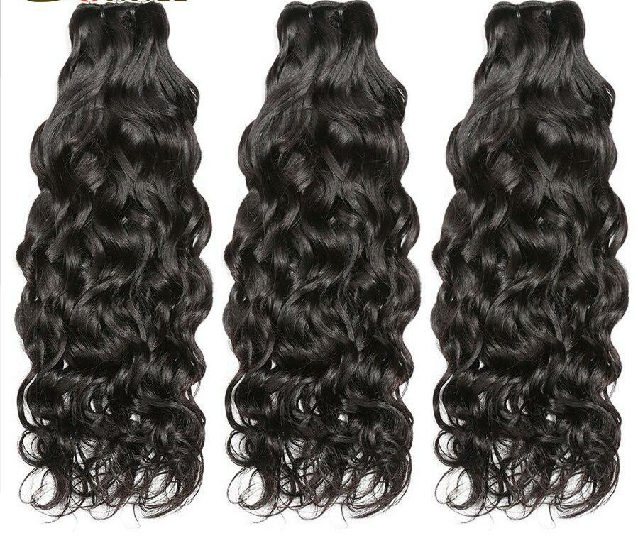 Water Wave Bundles Remy Hair Extension Human Hair Bundles Brazilian Hair Weave Bundles Deal Human Hair Weave 28 inch bundle