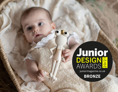 JUNIOR DESIGN AWARDS 2020 BRONZE WINNER: Best Toy Design 0-2 Years