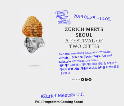 Zurich meets Seoul: meet us in Soul at SWISS DESIGN MARKET