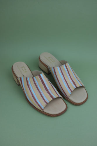 P.S.S. x TLC Sandals - Stripe Lane