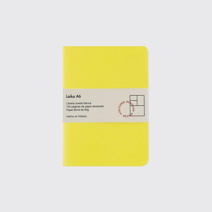 A6 Notebook - Yellow - Writing and Correspondence