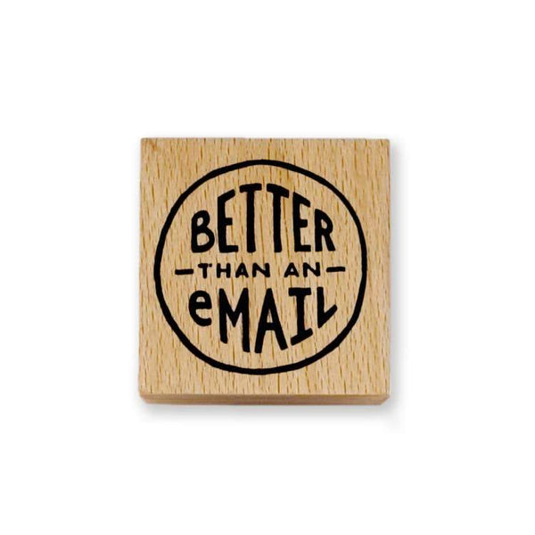 Better Than An Email Rubber Stamp - Writing and