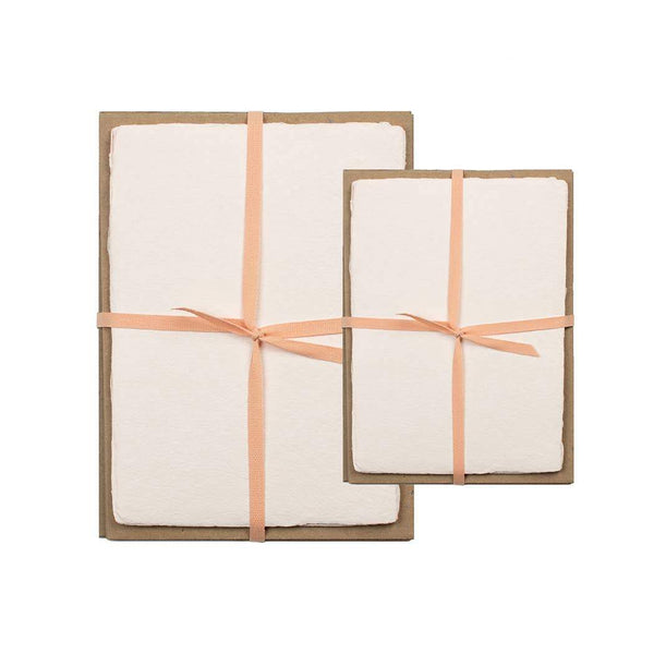 Blush Handmade Paper Pack - 5 x 7 - Paper Product