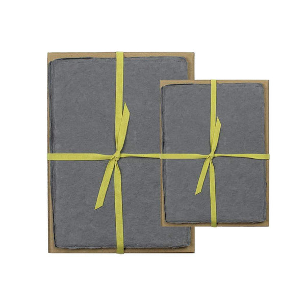 Charcoal Handmade Paper Pack - 5 x 7 - Paper Product