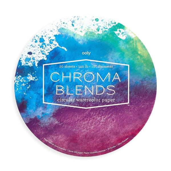 Chroma Blends Circular Watercolor Paper Pad - Fine Art Paper