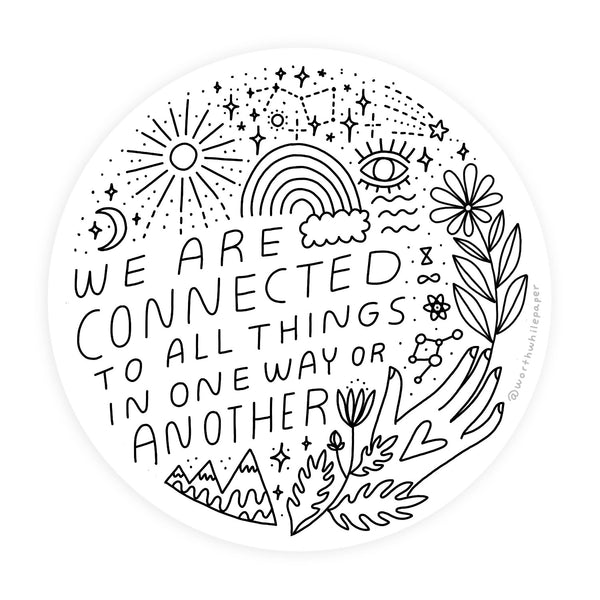 Connected Sticker - Gift