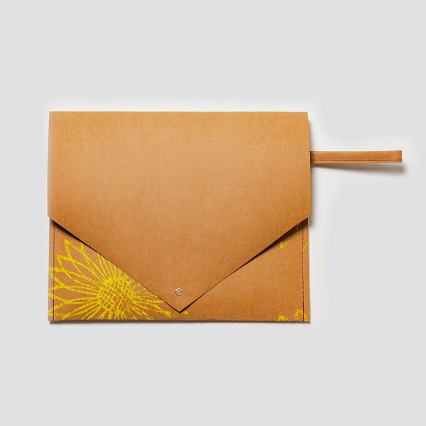Courier Clutch - Sunflower - Accessory