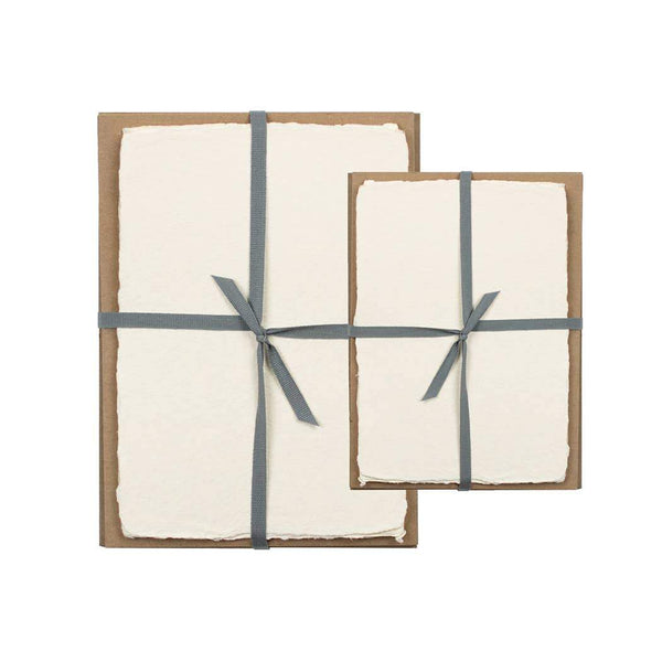Cream Handmade Paper Pack - 5 x 7 - Writing and