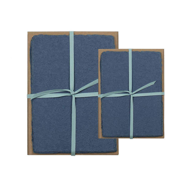 Denim Handmade Paper Pack - 5 x 7 - Writing and