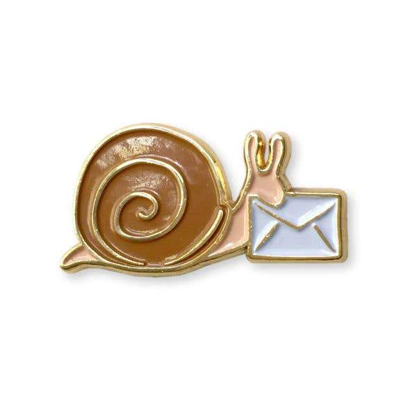 Enamel Pin - Snail Mail - Accessory